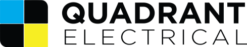 Quadrant electrical logo