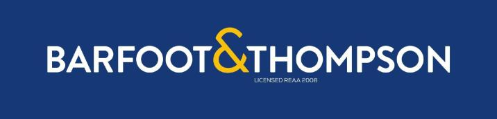 Barfoot & Thompson Logo Horizontal Negative